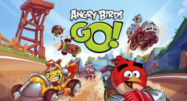Angry Birds Go! - recenzja recenzje, gry-i-aplikacje Wideo, Recenzja, Opis, Gra, Angry Birds Go!  Angry Birds kojarzyło Nam się zazwyczaj z grą, w której strzelami ptaszkami w naszych przeciwników. Koncept ten był wykorzystywany przez dłuższy czas, aż do momentu wydania Angry Birds Go. Tym razem staniemy w szranki z naszymi przeciwnikami podczas wyścigów, ale jak sprawdzi się nowa formuła gry, odbiegająca od pierwowzoru? AngryBirdsGo 650x350