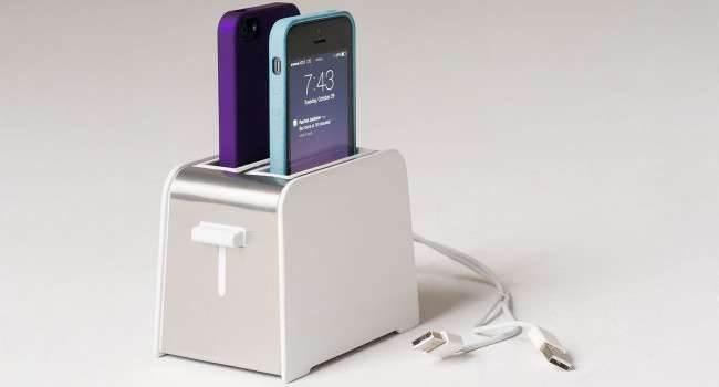 Foaster - oryginalna ładowarka dla iPhone nowosci, akcesoria Akcesoria   White Silver Studio 650x350