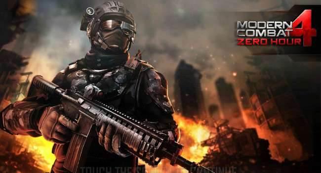 Modern Combat 4: Zero Hour w super promocyjnej cenie gry-i-aplikacje Zero Hour, Wideo, Przecena, Promocja, Modern Combat 4: Zero Hour, Modern Combat 4, iPhone, iPad, Gra, App Store   Modern 650x350
