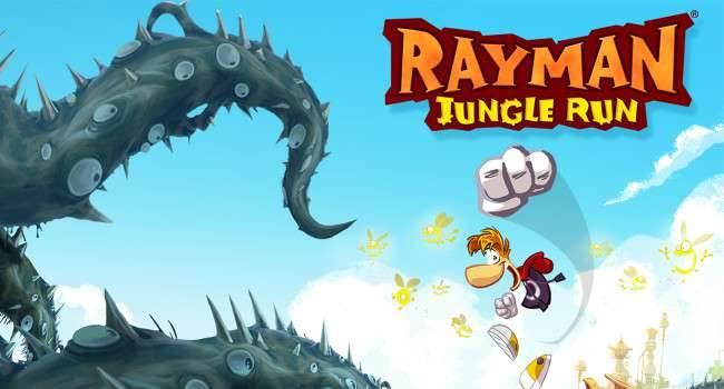 """Gra Rayman Jungle Run dostępna w bardzo niskiej cenie gry-i-aplikacje Za darmo, Youtube, Wideo, Rayman Jungle Run, Rayman, Przecena, Promocja, iPhone, iPad, iOS, gry, Gra przygodowa, Gra, Apple, App Store  Lubicie gry? Te przecenione? Jeśli tak, to na pewno ucieszycie się z tej wiadomości. Jedna z kultowych gier przygodowych dostępnych w App Store """"Rayman Jungle Run"""" została właśnie przeceniona. Rayman 650x350"""
