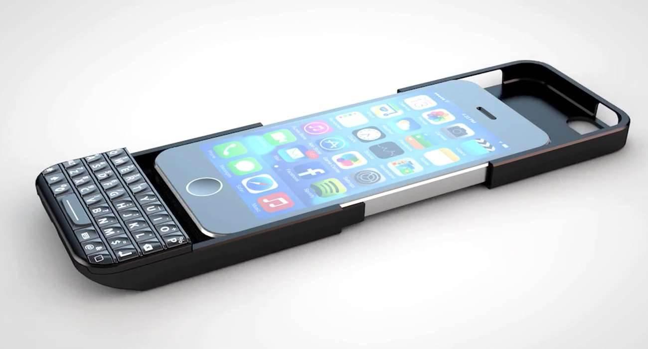 Klawiatura BlackBerry w iPhone nowosci, akcesoria Typo, klawiatura BlackBerry, klawiatura, iPhone5s, iPhone5c, iPhone5, Apple, Akcesoria   klaw1 1300x700