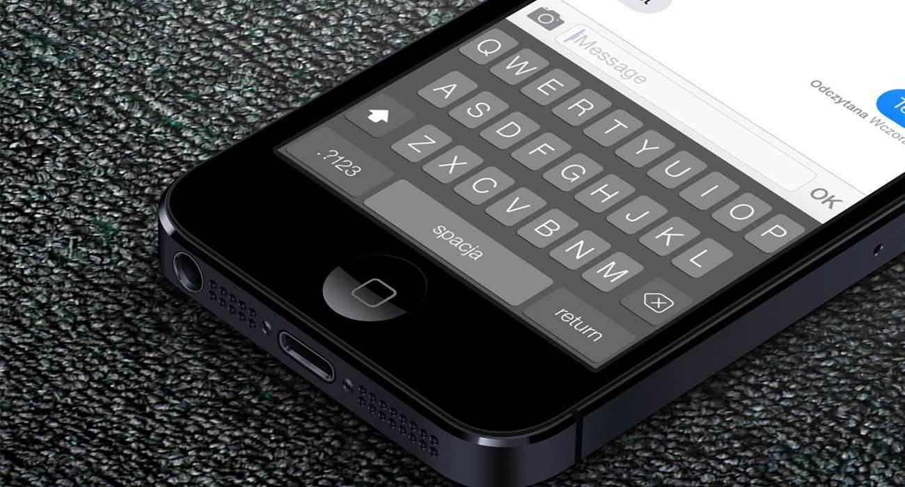 iOS 8 - jak zainstalować nową klawiaturę? poradniki, polecane TouchPal, Jak zainstalować klawiaturę na iOS 8, jak wgrać nową klawiaturę na iOS 8, iPhone, iOS 8 i instalacja nowej klawiatury, iOS 8, iOS, instalacja klawiatury na iOS 8, Apple  Jak zapewne większość z Was wie, finalna wersja iOS 8, która pojawiła się w dniu wczorajszym pozwala na zmianę domyślnej klawiatury. Poniżej opisze Wam w jaki sposób instalujemy nową klawiaturę na iOS 8. Klaw1 1300x700