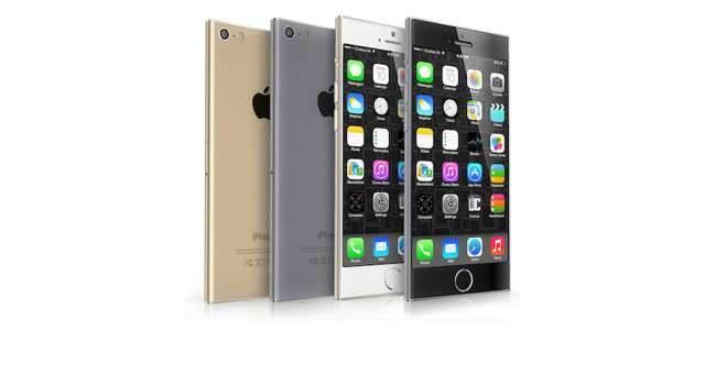 iPhone 6 jak iPod nano ciekawostki Wizja, Nowy iPhone, koncept, iPod nano, iPhone6, iPhone Air, iPhone 6, iPhone, Apple  Prezentacja iPhone 6 jeszcze daleko przed nami, a z powodu braku jakichkolwiek realnych zdjęć projektanci mają spore pole do popisu. iPhone6nano.onetech.pl  650x350