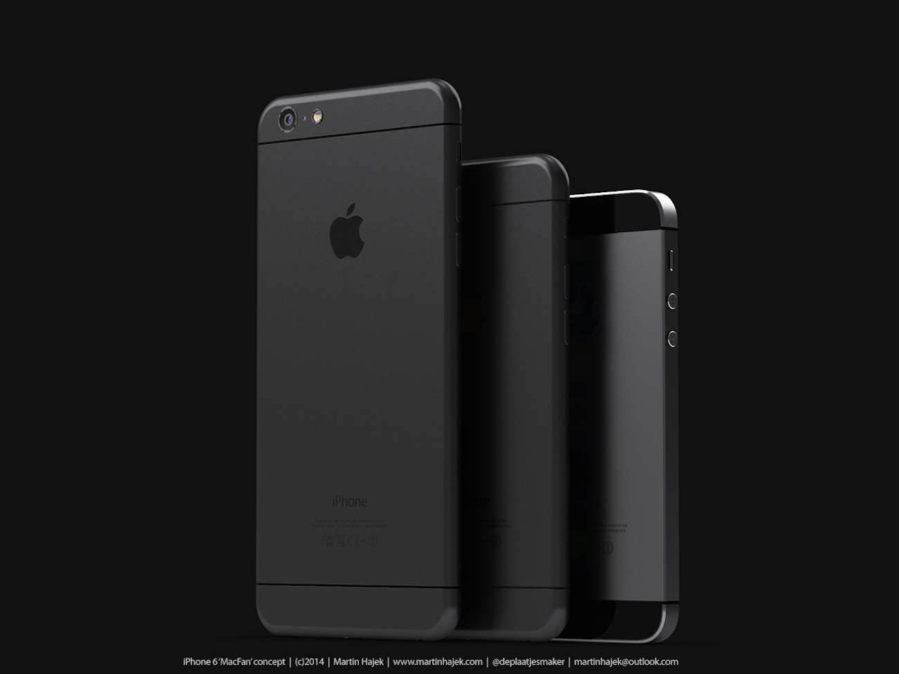 iPhone 6 i bardzo interesujący koncept Martina Hajek'a ciekawostki Zdjęcia iPhone 6, Wizja, Nowy iPhone 6, koncept, jak będzie wyglądał nowy iPhone 6, iPhone6, iPhone Air, iPhone 6, iPhone, Apple  Pamiętacie jak kilka dni temu umieściliśmy na stronie zdjęcia rzekomej obudowy nowego iPhone'a 6? iP611