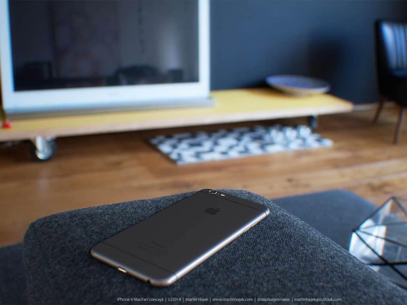 iPhone 6 i bardzo interesujący koncept Martina Hajek'a ciekawostki Zdjęcia iPhone 6, Wizja, Nowy iPhone 6, koncept, jak będzie wyglądał nowy iPhone 6, iPhone6, iPhone Air, iPhone 6, iPhone, Apple  Pamiętacie jak kilka dni temu umieściliśmy na stronie zdjęcia rzekomej obudowy nowego iPhone'a 6? iP621