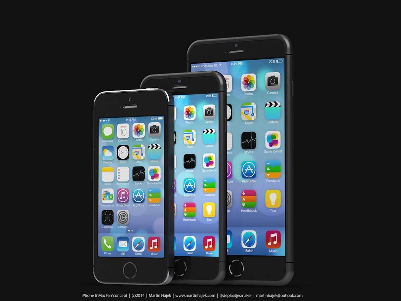 iPhone 6 i bardzo interesujący koncept Martina Hajek'a ciekawostki Zdjęcia iPhone 6, Wizja, Nowy iPhone 6, koncept, jak będzie wyglądał nowy iPhone 6, iPhone6, iPhone Air, iPhone 6, iPhone, Apple  Pamiętacie jak kilka dni temu umieściliśmy na stronie zdjęcia rzekomej obudowy nowego iPhone'a 6? iP63