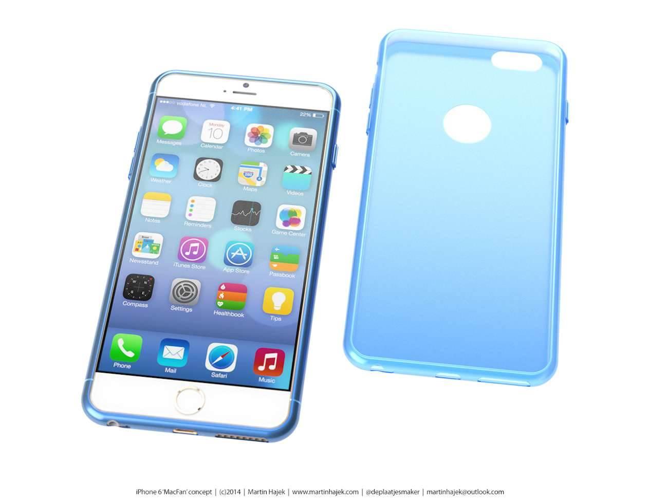 iPhone 6 i bardzo interesujący koncept Martina Hajek'a ciekawostki Zdjęcia iPhone 6, Wizja, Nowy iPhone 6, koncept, jak będzie wyglądał nowy iPhone 6, iPhone6, iPhone Air, iPhone 6, iPhone, Apple  Pamiętacie jak kilka dni temu umieściliśmy na stronie zdjęcia rzekomej obudowy nowego iPhone'a 6? iP64