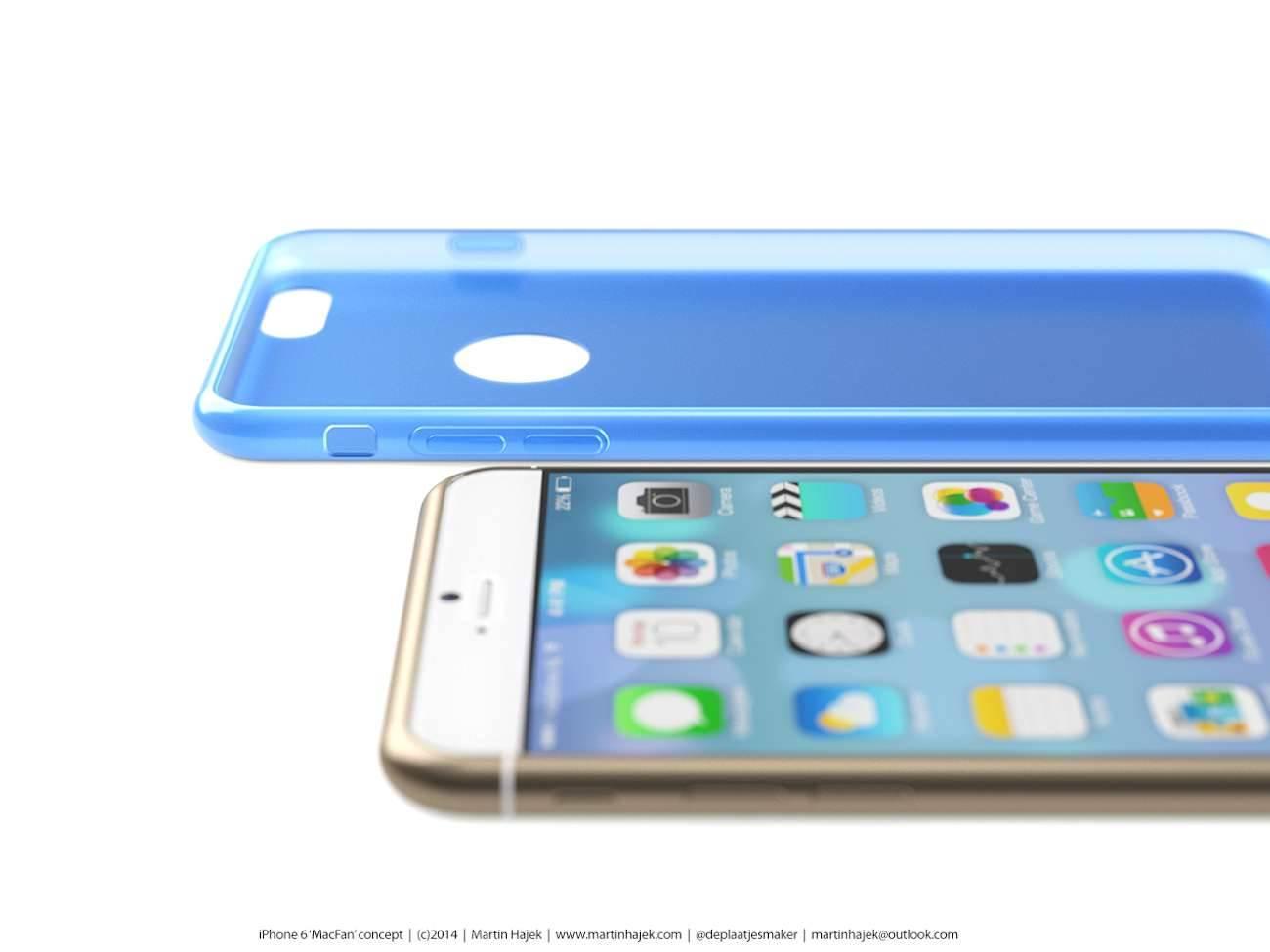 iPhone 6 i bardzo interesujący koncept Martina Hajek'a ciekawostki Zdjęcia iPhone 6, Wizja, Nowy iPhone 6, koncept, jak będzie wyglądał nowy iPhone 6, iPhone6, iPhone Air, iPhone 6, iPhone, Apple  Pamiętacie jak kilka dni temu umieściliśmy na stronie zdjęcia rzekomej obudowy nowego iPhone'a 6? iP65