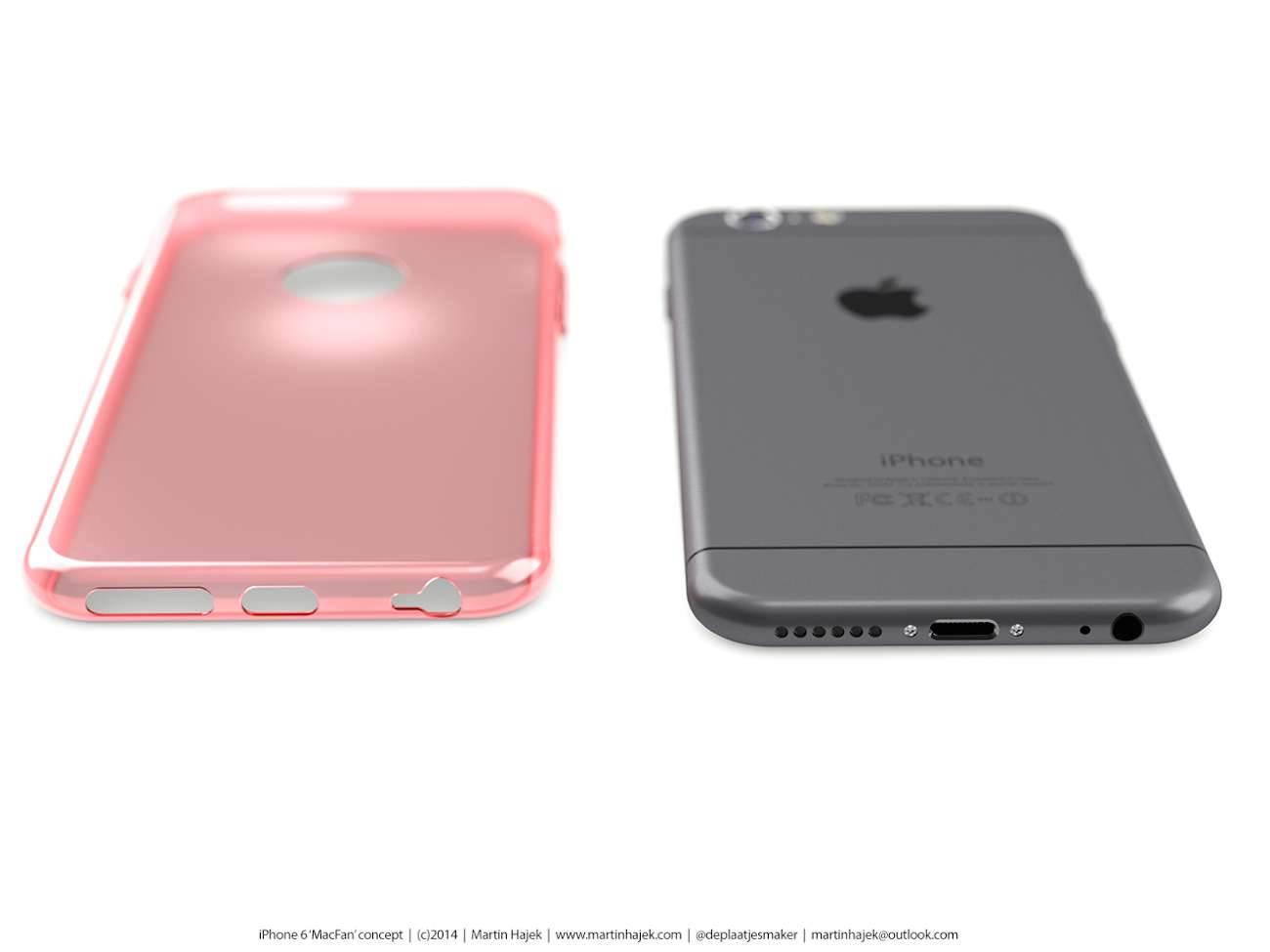 iPhone 6 i bardzo interesujący koncept Martina Hajek'a ciekawostki Zdjęcia iPhone 6, Wizja, Nowy iPhone 6, koncept, jak będzie wyglądał nowy iPhone 6, iPhone6, iPhone Air, iPhone 6, iPhone, Apple  Pamiętacie jak kilka dni temu umieściliśmy na stronie zdjęcia rzekomej obudowy nowego iPhone'a 6? iP68