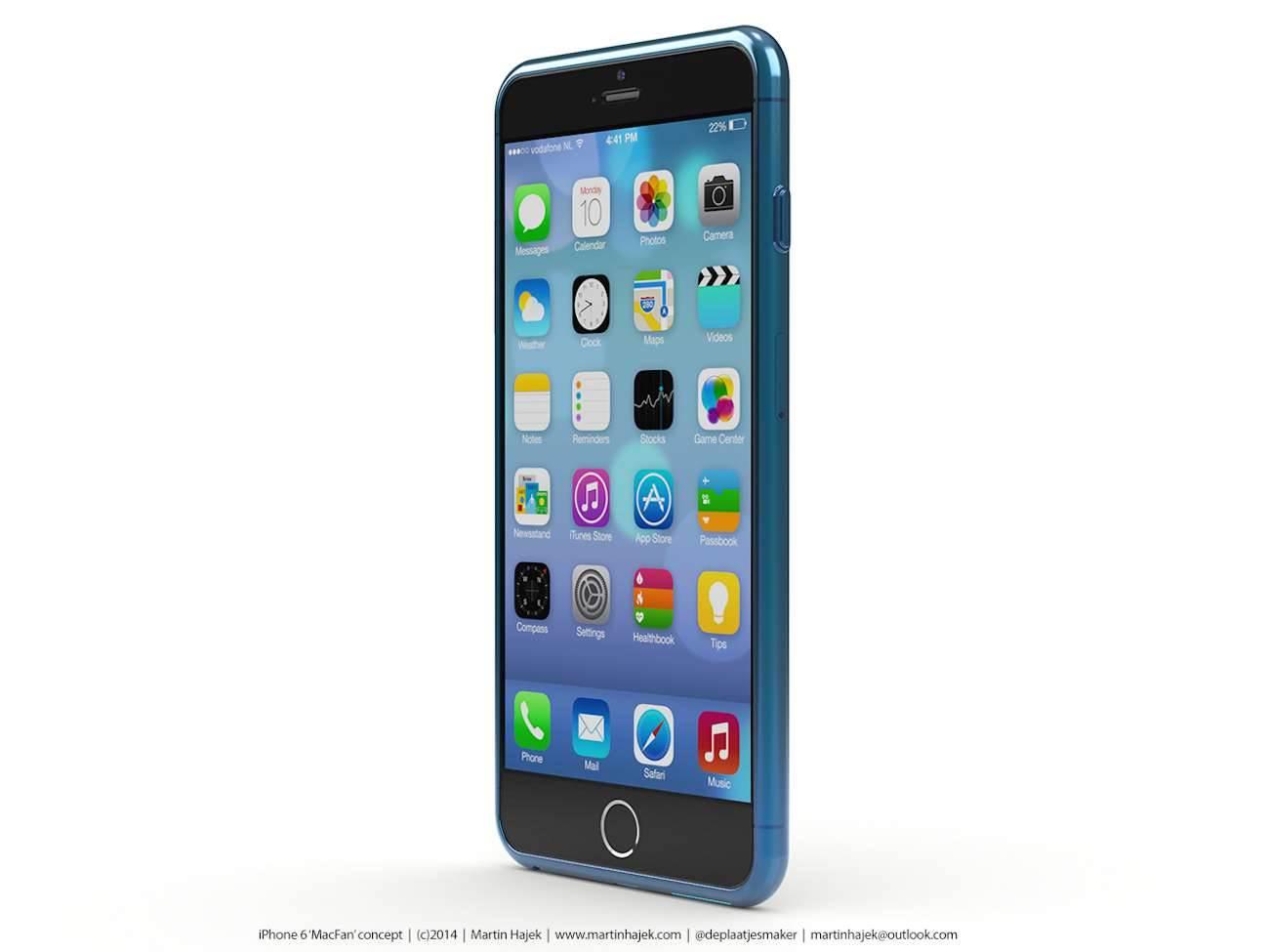 iPhone 6 i bardzo interesujący koncept Martina Hajek'a ciekawostki Zdjęcia iPhone 6, Wizja, Nowy iPhone 6, koncept, jak będzie wyglądał nowy iPhone 6, iPhone6, iPhone Air, iPhone 6, iPhone, Apple  Pamiętacie jak kilka dni temu umieściliśmy na stronie zdjęcia rzekomej obudowy nowego iPhone'a 6? iP69