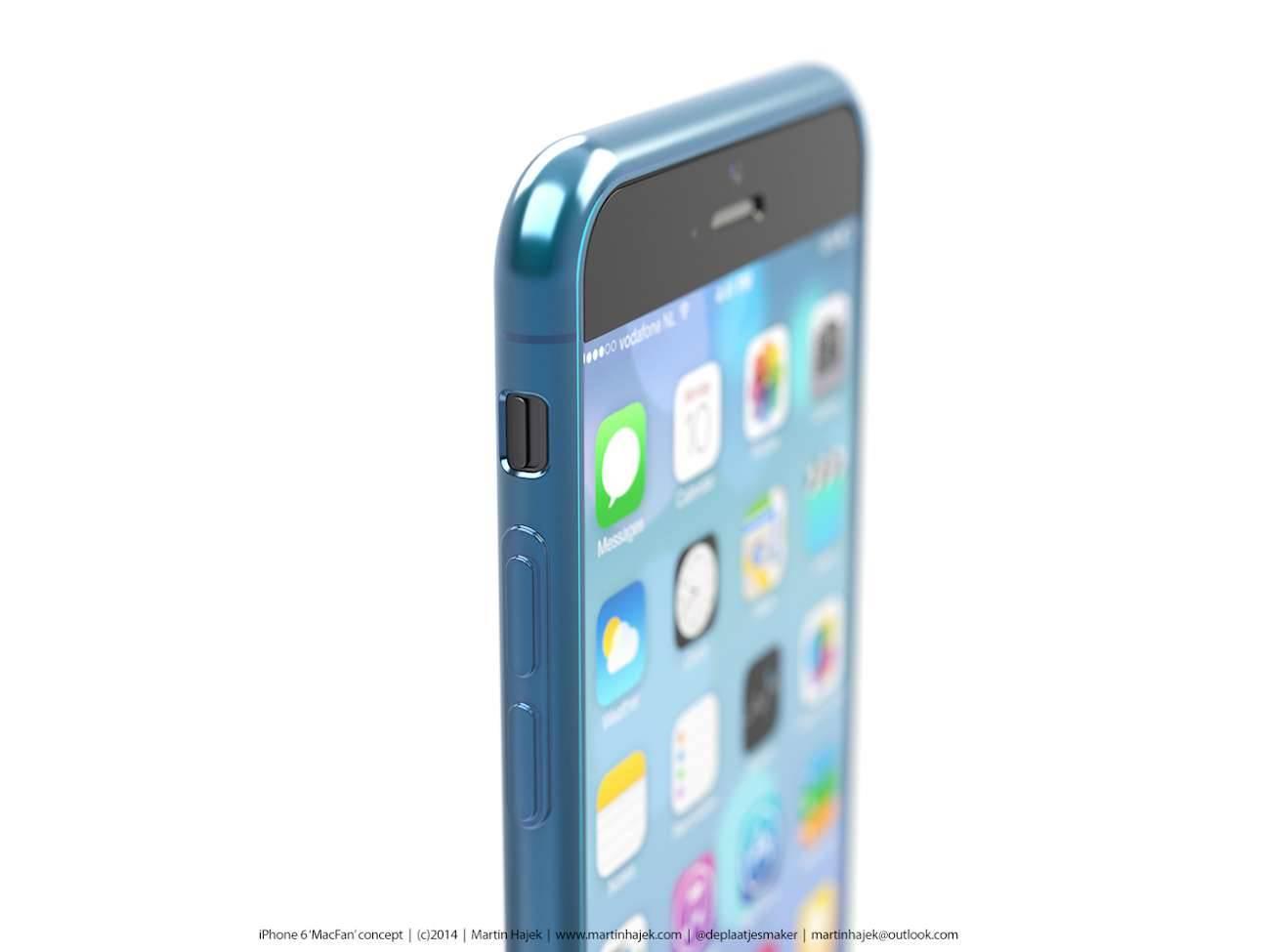 iPhone 6 i bardzo interesujący koncept Martina Hajek'a ciekawostki Zdjęcia iPhone 6, Wizja, Nowy iPhone 6, koncept, jak będzie wyglądał nowy iPhone 6, iPhone6, iPhone Air, iPhone 6, iPhone, Apple  Pamiętacie jak kilka dni temu umieściliśmy na stronie zdjęcia rzekomej obudowy nowego iPhone'a 6? iP71