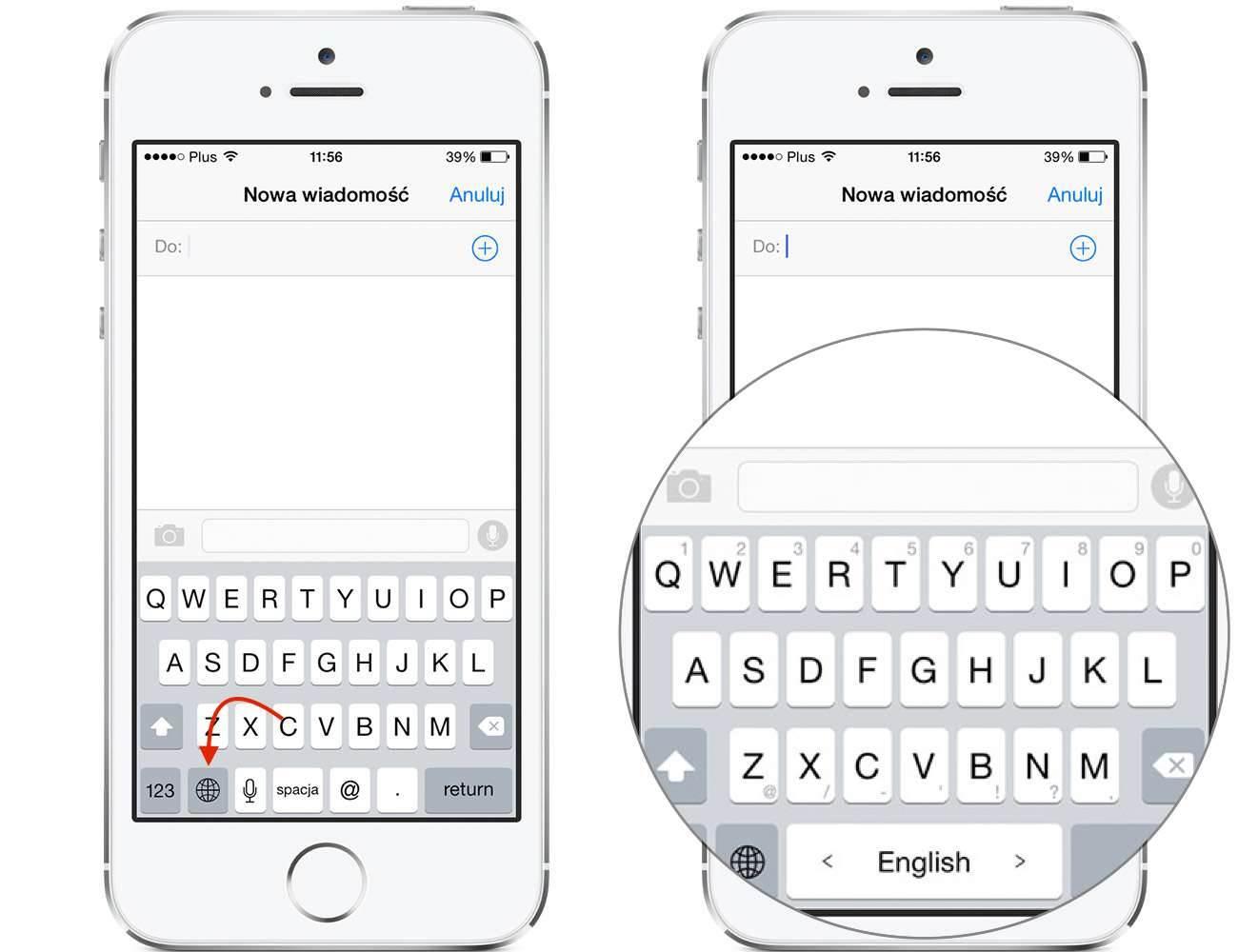 iOS 8 - jak zainstalować nową klawiaturę? poradniki, polecane TouchPal, Jak zainstalować klawiaturę na iOS 8, jak wgrać nową klawiaturę na iOS 8, iPhone, iOS 8 i instalacja nowej klawiatury, iOS 8, iOS, instalacja klawiatury na iOS 8, Apple  Jak zapewne większość z Was wie, finalna wersja iOS 8, która pojawiła się w dniu wczorajszym pozwala na zmianę domyślnej klawiatury. Poniżej opisze Wam w jaki sposób instalujemy nową klawiaturę na iOS 8. Klaw3