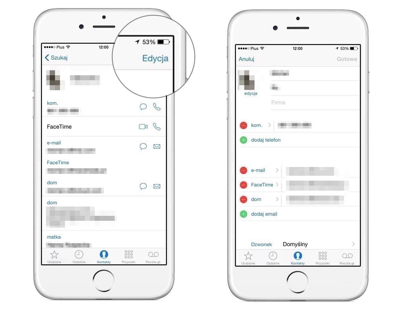 iOS dla początkujących #5 - zarządzanie i dodawanie kontaktów poradniki, polecane zarządzanie i dodawanie kontaktów, Poradnik, jak importować z SIM w iPhone, jak edytować kontakt w IPhone, jak dodać kontakt w iPhone, iPhone, iPad, iOS dla początkujących, iOS, import kontaktów z SIM iPhone, edycja kontaktu w iPhone, edycja kontaktów, dodatnie kontaktu w iPhone, Apple  Urządzenia mobilne Apple pozwalają na przechowywanie danych kontaktowych do znajomych i rodziny. Dzięki, nim szybciej wykonamy połączenie wychodzące, wyślemy smsa, czy e-maila.  Klaw61