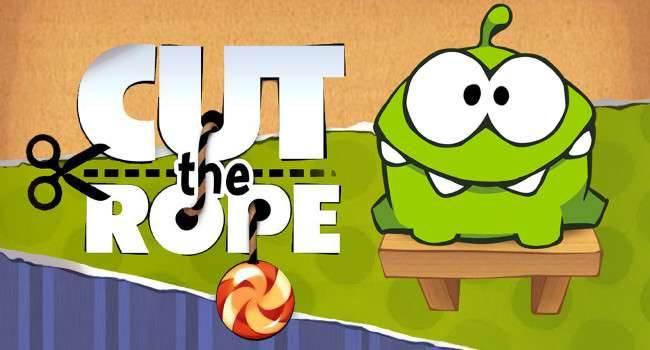 Gra Cut The Rope dostępna w AppStore w promocji gry-i-aplikacje Wideo, Promocja, iPod Touch, iPhone, iOS, Gra, cut the rope hd, Cut The Rope, Apple, App Store  Cut The Rope, to gra którą na pewno doskonale znają wszyscy posiadacze iPhone oraz iPad. Jeśli jeszcze nie zakupiliście tej świetnej gry, to teraz jest ku temu idealna okazja. CutTheRope 650x350
