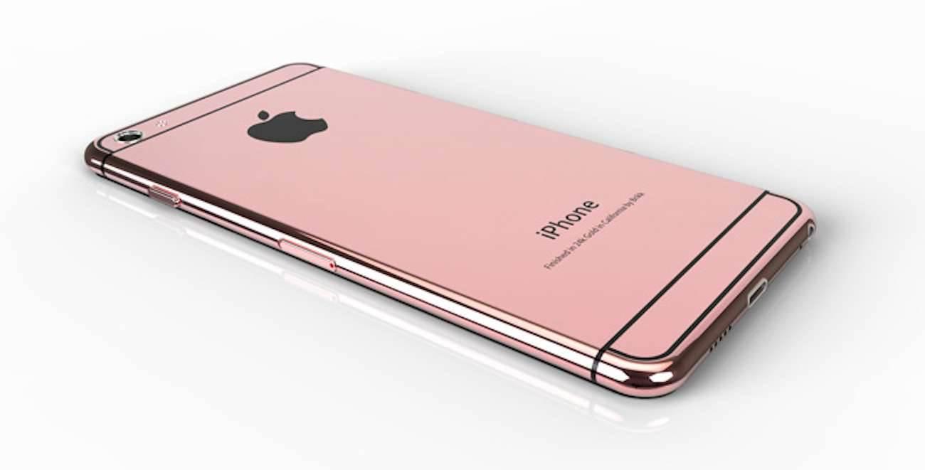 iPhone 6s w kolorze złotego różu i z Force Touch? polecane, ciekawostki różowy iphone 6s, Plotki, iphone 6s jakie kolory, iPhone 6s, Apple  Podczas premiery iPhone'a 5s we wrześniu, pojawił się nowy kolor - złoty. To właśnie do czasu zaprezentowania pierwszego 64-bitowca, iPhone'y  dzieliły się na 2 kolory, czarny i biały (który był czasem srebrnym). rozowy