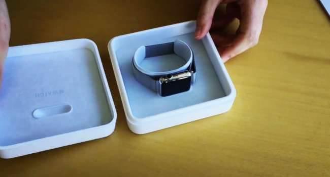 Pierwszy unboxing Apple Watch polecane, ciekawostki zegarek od apple, Youtube, Wideo, Unboxing, Film, Apple Watch, Apple, Akcesoria  Do sieci trafił właśnie kolejny film, którego głównym bohaterem jest ponownie Apple Watch. Tym razem jest to unboxing nowego zegarka od Apple. Watch1 650x350