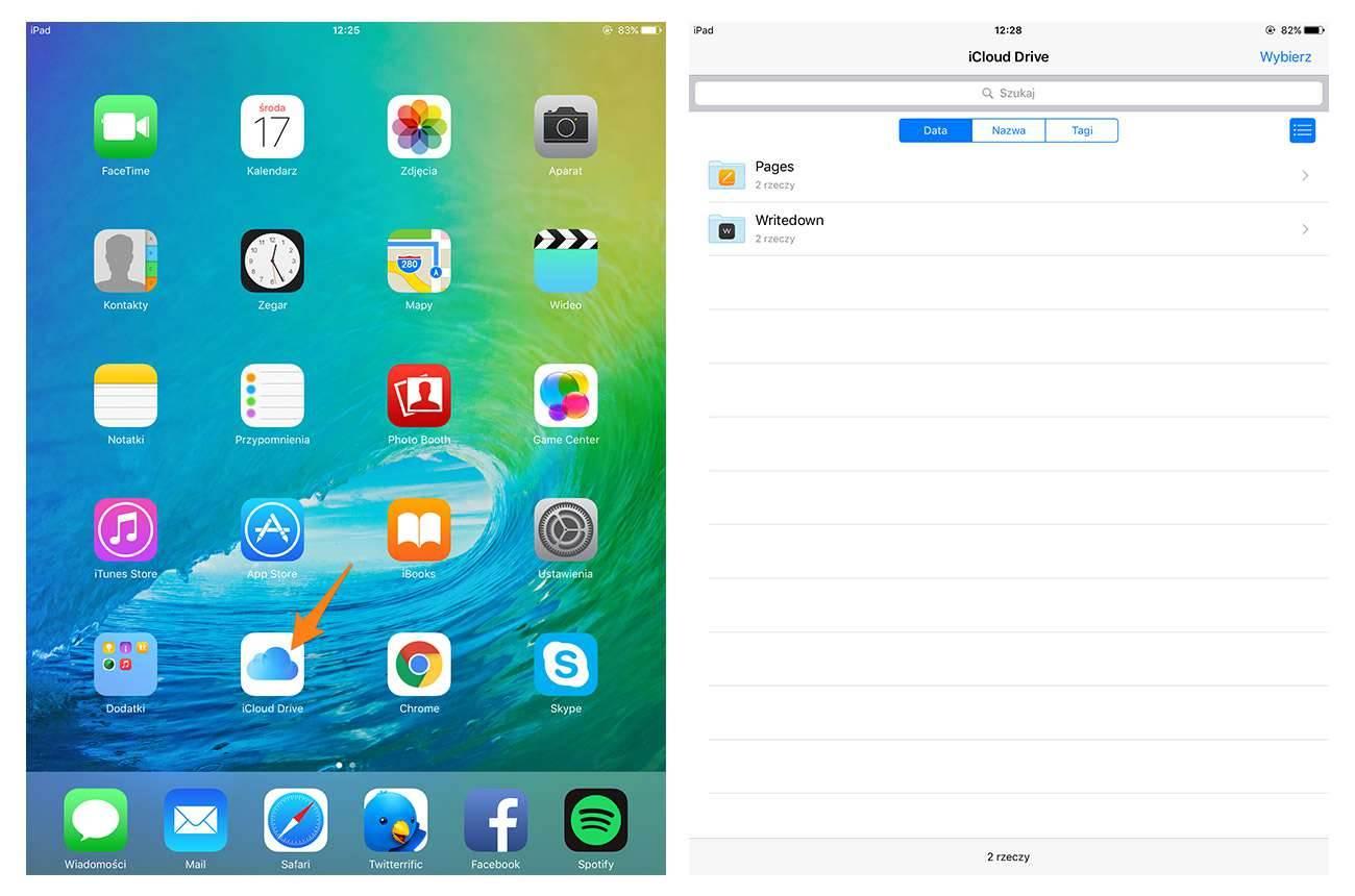 iOS 9 - dedykowana aplikacja iCloud Drive poradniki, polecane, ciekawostki jak włączyć icloud drive w ios 9, iPhone, iPad, ios 9 beta 1, iOS 9, iCloud drive, iCloud, dedykowana aplikacja iCloud Drive, co to jest icloud drive, Apple  W ubiegłym tygodniu Apple na tegorocznym keynote, poprzedzającym WWDC zaprezentowało iOS 9. W systemie operacyjnym dla nadgryzionych jabłuszek pojawiło się wiele nowości. Jedną z nich jest dedykowana aplikacja iCloud Drive. icloud2