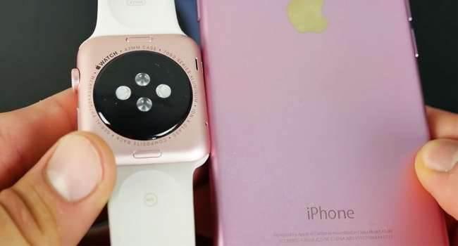 Pierwsze rozpakowywanie Apple Watch w kolorach różowego złota i złotego polecane, ciekawostki Youtube, Wideo, Unboxing, rozpakowanie, różowy Apple Watch na filmie, różowy Apple Watch, nowe kolory Apple Watch, Apple Watch, Apple Wach na wideo  Parę dni po premierze nowych wersji kolorystycznych zegarków Apple Watch Sport, w sieci pojawiły się już pierwsze nagrania z rozpakowywania tychże produktów. AW 650x350