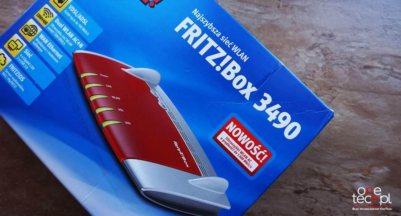 FRITZ!Box 3490 - mega szybki router ADSL/VDSL z Wi-Fi AC recenzje, polecane zalety, wady, router FRITZ!Box 3490 c, router FRITZ!Box 3490, recenzja FRITZ!Box 3490, polska recenzja, konfiguracja FRITZ!Box 3490, FRITZ!Box 3490 i neostrada, FRITZ!Box 3490, czy warto kupić FRITZ!Box 3490, cena FRITZ!Box 3490, AVM  FRITZ!Box 3490 to router niemieckiej firmy AVM. Jestem w jego posiadaniu od ponad czterech tygodni i poniżej chciałbym się podzielić z Wami informacjami na temat tego właśnie routera. fritz1
