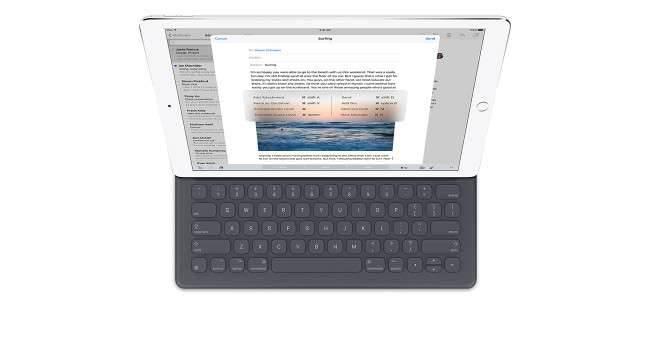 Apple wydało aktualizację dla Smart Keyboard, która eliminuje problemy z połączeniem nowosci, ciekawostki Smart Keyboard, iPad Pro, Apple, aktualizacja Smart Keyboard  Wielu użytkowników iPada Pro donosi, że Apple udostępniło aktualizację dla dedykowanej modelowi Pro klawiatury, aby wyeliminować problemy z połączeniem. ipadpro 650x350