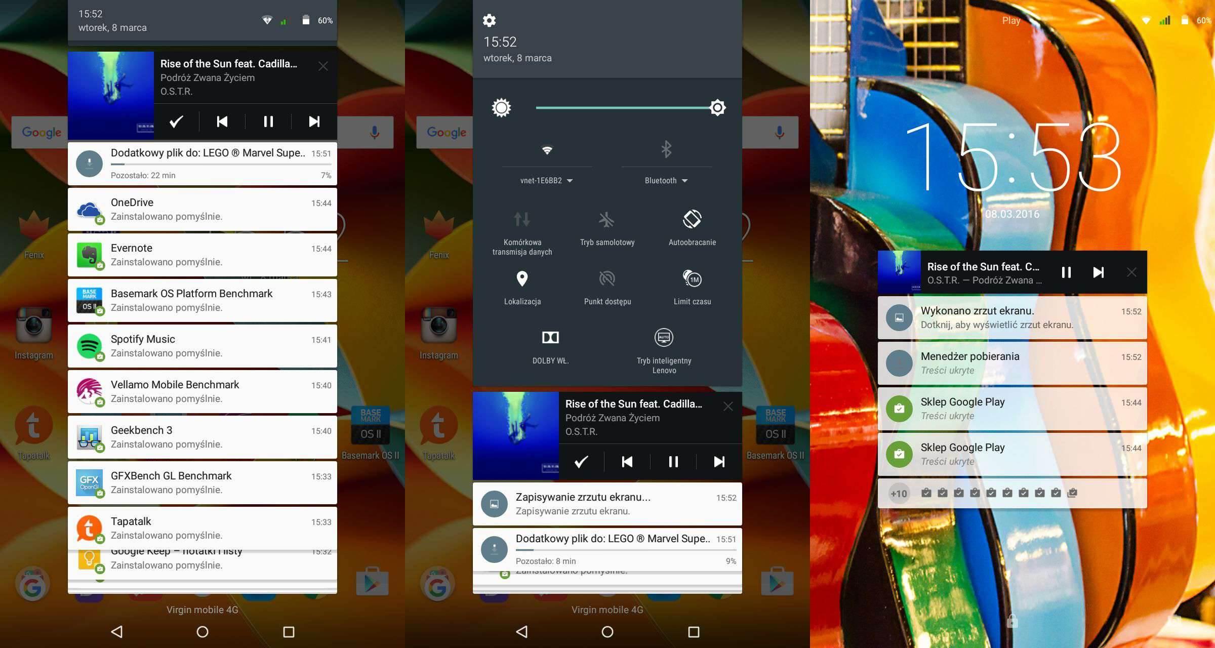Lenovo Yoga Tab 3 LTE - recenzja urządzenia recenzje, polecane zalety, yoga tab 3, wady, Tablet, polska recenzja Lenovo Yoga Tab 3 LTE, polska recenzja, Lenovo Yoga Tab 3 LTE, lenovo, jak działa Lenovo Yoga Tab 3 LTE, czy warto kupić Lenovo Yoga Tab 3 LTE, cena Lenovo Yoga Tab 3 LTE  Nie ma się co oszukiwać, większość obecnie dostępnych tabletów wygląda niemal tak samo i różnią je od siebie drobne szczegóły wprowadzane do wzornictwa z generacji na generację, ale jednym z odmiennych modeli jest bez wątpienia seria tabletów Yoga, wprowadzona na rynek mobilny przez Lenovo. Czy przednie głośniki stereo i fabrycznie zamontowany stojak wystarczy, aby przykuć uwagę potencjalnego nabywcy? 1 3
