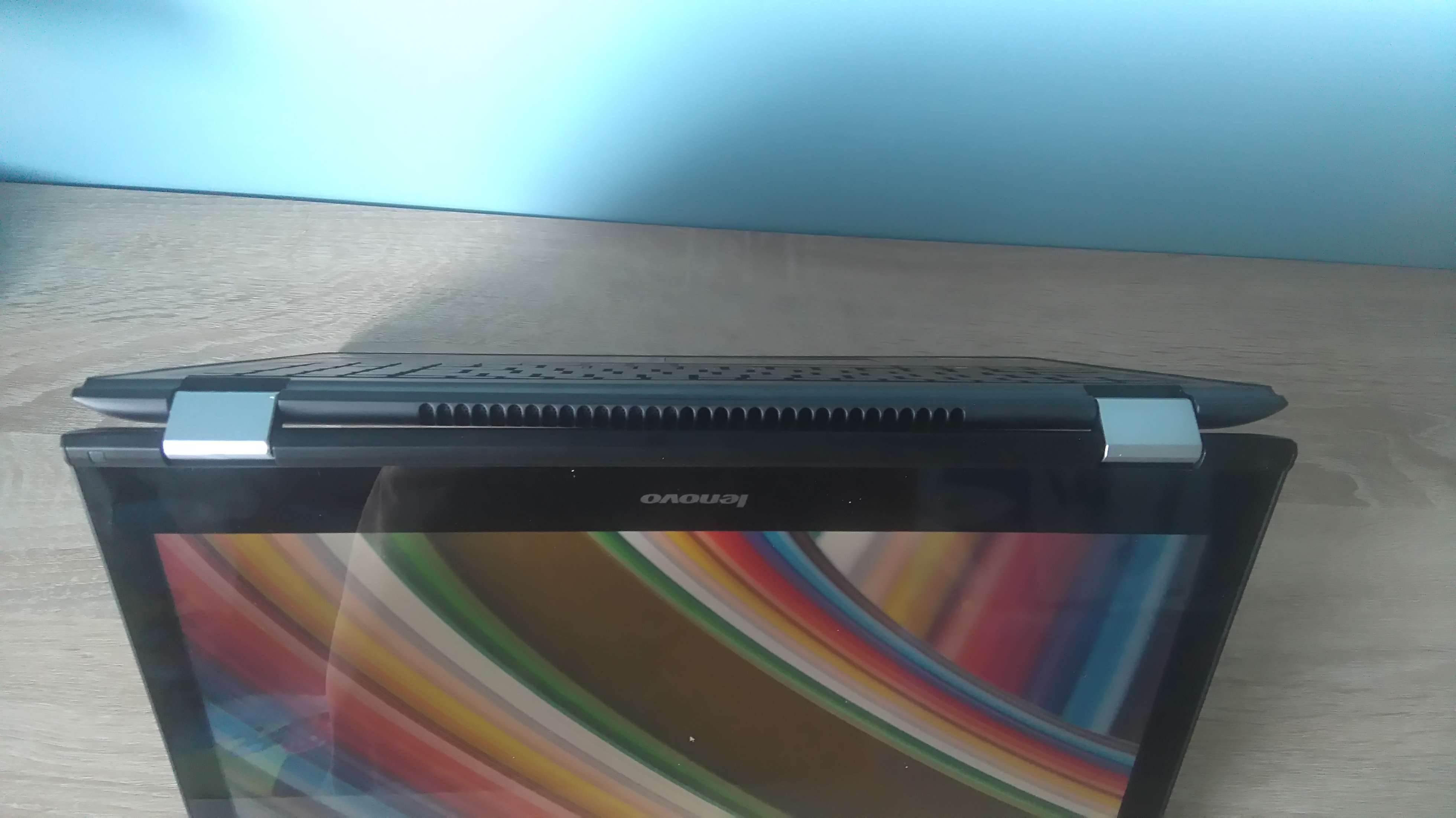 Lenovo YOGA 500 - recenzja urządzenia recenzje, polecane zalety, yoga 500, właściwości, wadyz, wady, Specyfikacja, recenzja Lenovo YOGA 500, polska recenzja Lenovo YOGA 500, Lenovo YOGA 500, lenovo, laptop Lenovo YOGA 500, jak działa Lenovo YOGA 500, czy warto kupić Lenovo YOGA 500, cena  Od ubiegłorocznych wakacji korzystam z 12 - calowego Chromebooka i ostatnio wpadłem na pomysł, aby wziąć do testów laptopa z Windowsem, więc padło na Lenovo YOGA 500.  DSC 0008 5