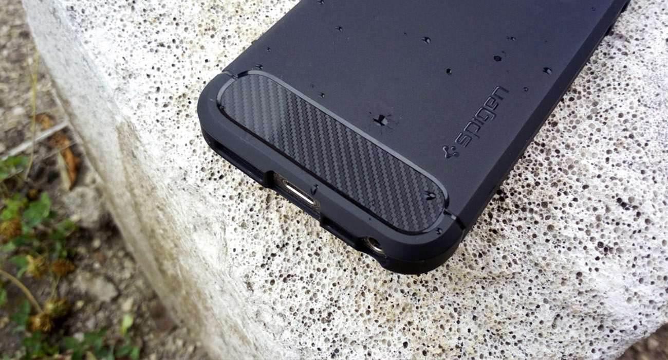 Spigen Rugged Armor - test i recenzja etui dla iPhone 5/5S/SE recenzje, polecane, akcesoria test, Spigen Rugged Armor, Spigen, Recenzja, etui Spigen Rugged Armor, etui dla iPhone SE, cena, Apple  Mam wrażenie, że większość użytkowników sztandarowych modeli smartfonów nie chce, żeby ich nowo kupiony sprzęt szybko uległ uszkodzeniu. spigen