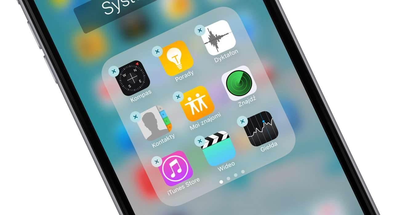 Usuwanie i ponowna instalacja fabrycznych aplikacji Apple poradniki, polecane, ciekawostki usuwanie systemowych aplikacji w IPhone, usuwanie systemowych aplikacji w iOS, usuń systemowe aplikacje, Poradnik, jak usunąć systemowe aplikacje w iPhone, iOS, Apple   systemowe