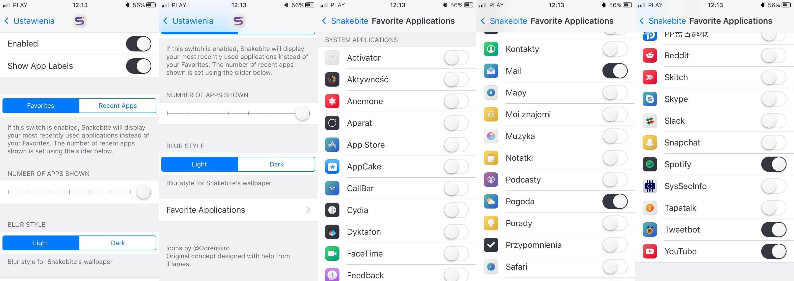 Snakebite 2 - test i recenzja recenzje, cydia-i-jailbreak Snakebite 2, recenzja Snakebite 2  Menu wielozadaniowości w iOS na przestrzeni lat zmieniało się wiele razy, raz były to świetne rozwiązania (iOS poniżej 7), a raz nieudane (iOS 9). 1 6