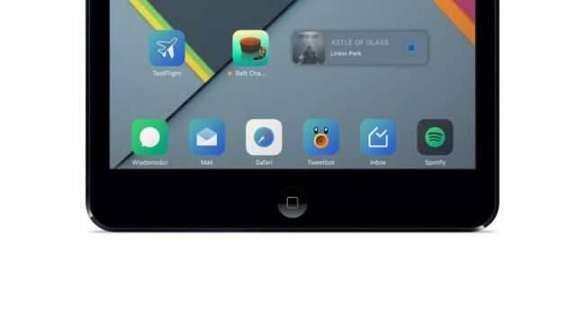 TinyPlayer Pro - test i recenzja recenzje, cydia-i-jailbreak TinyPlayer Pro, recenzja TinyPlayer Pro, Recenzja, polska recenzja TinyPlayer Pro, jailbrea, iPhone, Cydia, cena  Razem z iPhone'em 5S i iPadem mini 2 (Retina) korzystam z Vernee Thora i dziwi mnie, że Apple i Spotify w swoich aplikacjach na iOS nie dodali widżetów, które przecież mogą być wyświetlane w Centrum Powiadomień (część odpowiedzialna za ?Dzisiaj?). ipad 650x350
