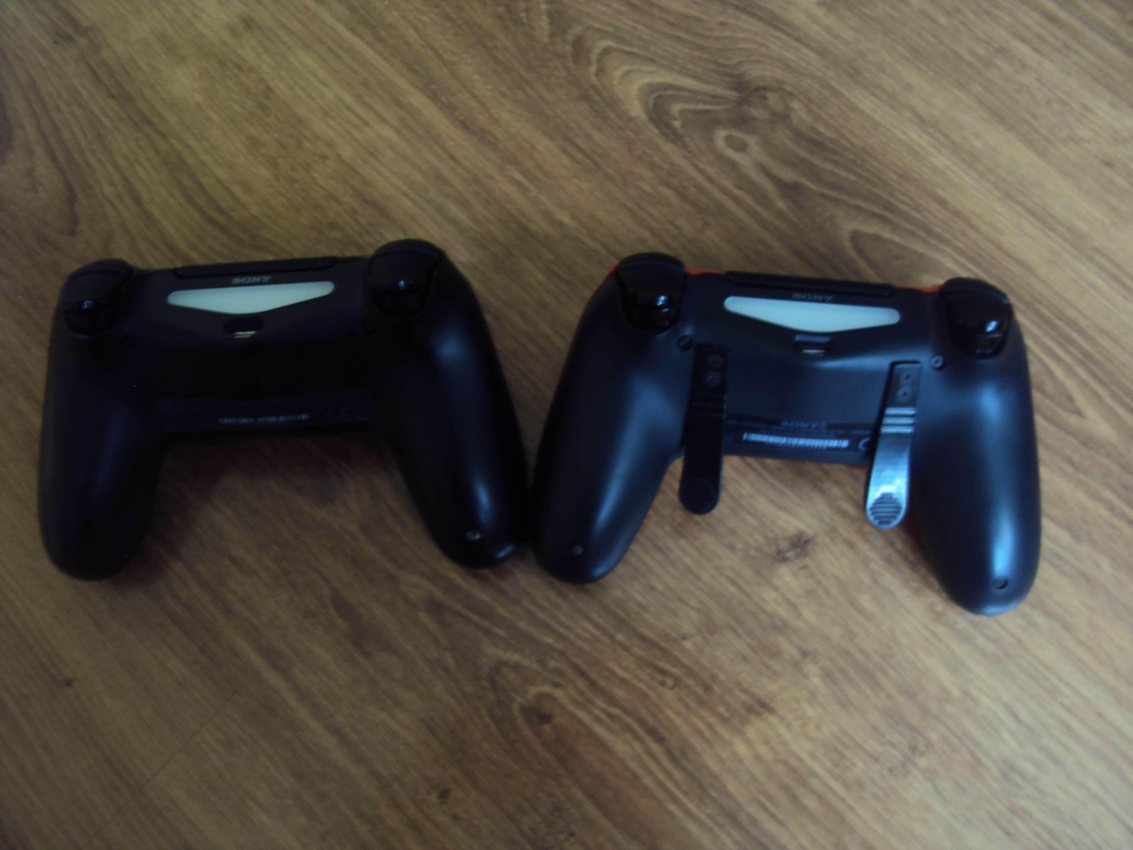 Sony DualShock 4 (ShockControllers) - test i recenzja recenzje, ciekawostki Sony DualShock 4, ShockControllers, Recenzja  Do tej pory moim jedynym niestandardowym kontrolerem (przynajmniej według wyglądu) był DualShock 4 z limitowanej edycji Metal Gear Solid V The Phantom Pain. DSC02664
