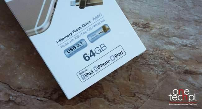 ADATA AI920 - miniaturowy pendrive ze złączem Lightning do Twojego iPhone i iPad recenzje, polecane, akcesoria Specyfikacja, Recenzja, pendrive ADATA AI920, Opis, koszt, cena, ADATA AI920  Kilka tygodni temu dzięki uprzejmości ADATA otrzymaliśmy do testów bardzo fajny hybrydowy pendrive AI920 do iPhone i iPad. Czas więc napisać o nim kilka słów. pen1 650x350