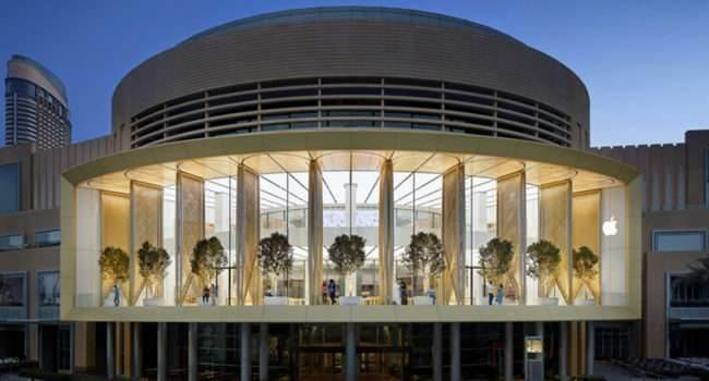 Tak wygląda Apple Store w Dubaju - zobacz wideo ciekawostki Wideo, dubai, Apple Store w dubaju, Apple Store  Jeśli jeszcze nie wiecie, to dokładnie we wtorek Apple otworzyło nowy sklep Apple Store w Dubaju. dubaj 650x350