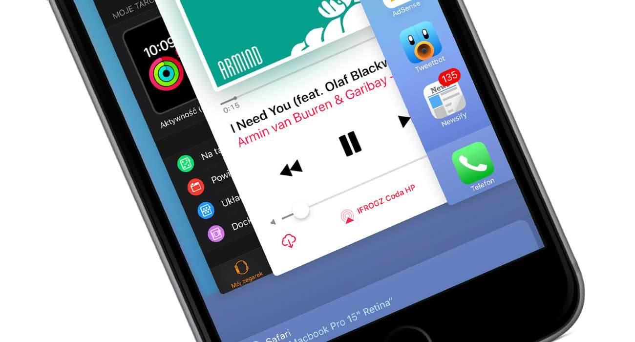 Zobacz jak szybko zamknąć wszystkie uruchomione aplikacje na iOS bez Jailbreak poradniki, polecane, ciekawostki jak zwolnić ram w iPhone, jak zwolnić pamięć w iPhone, jak zamknąć aplikacje działające w tle na iPhone, iPad, Apple  Chociaż Apple mówi, że użytkownik iOS nie musi zamykać uruchomionych aplikacji, to jednak są pewne sytuacje gdy zamknięcie jest konieczne np. gdy w naszym iUrządzeniu brakuje wolnej pamięci. wtle