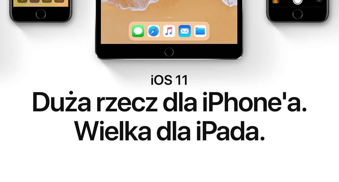 Polska strona Apple uaktualniona - pojawiły się informacje o iOS 11, watchOS 4 i macOS High Sierra polecane, ciekawostki watchOS 4, polska strona apple, macOS Sierra, macos high sierra, iOS 11, Apple  Tym razem wszystko poszło bardzo sprawnie. Od zakończenia keynote minęły może 3 godziny, a polska strona Apple jest już uaktualniona i dostępne są na niej informacje o najnowszych systemach Apple. iOS11 2