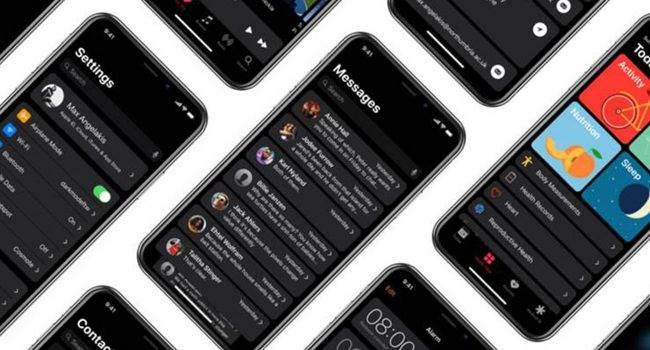 Czy tak będzie wyglądać tryb ciemny w iOS 13? polecane, ciekawostki tryb nocny, iPhone, iOS 13  O tym, że tryb ciemny będzie jedną z nowości w iOS 13 pisaliśmy jakiś czas temu. Dziś mamy dla Was screeny pokazujące jak mógłby taki tryb wyglądać. iOS11 tryb ciemny 650x350