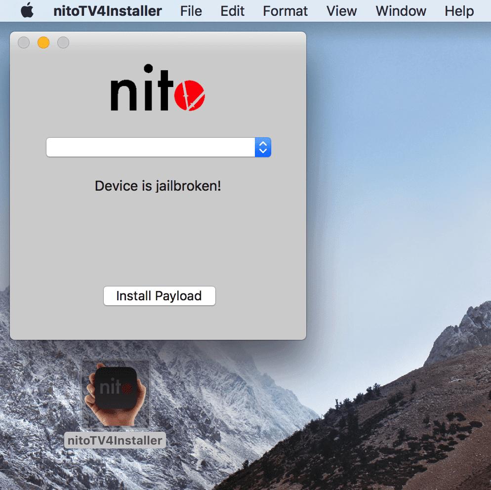 nitoTV dla tvOS wydane ciekawostki nitoTV na tvOS, nitoTV na appletv, AppleTV  Instalacja wtyczek lub aplikacji spoza App Store w przypadku Apple TV z Jailbreak nie należy do najprostszych. Do tej pory musieliśmy wszystko robić za pomocą terminala, ale dzięki instalatorowi paczek nitoTV operacja będzie znacznie uproszczona i przyśpieszona. nitoTV mac installer