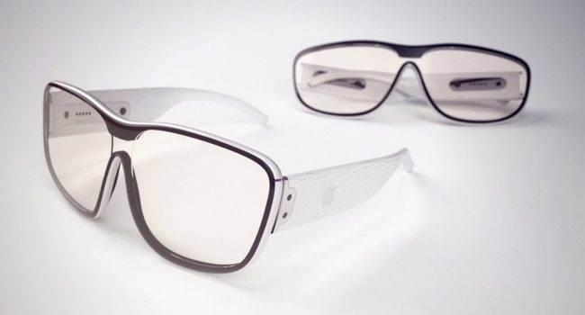 Zobacz pierwsze wizualizacje okularów do rozszerzonej rzeczywistości Apple ciekawostki Wizja, okulary AR od Apple, okulary AR, okulary, AR, Apple  Wiara Apple w rozszerzoną rzeczywistość chyba nie zna granic, najpierw pojawił się ARKit, umożliwiający pisanie aplikacji dla rozszerzonej rzeczywistości. okulary logo 650x350