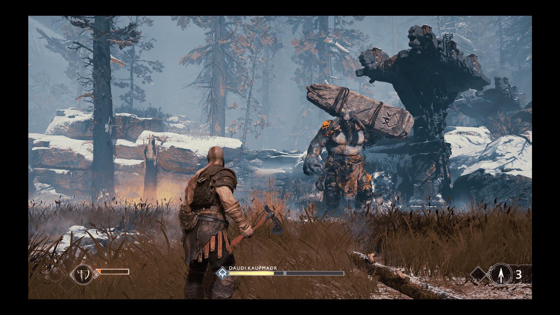 """God of War - recenzja gry gry-i-aplikacje recenzja gry God of War, PS4, God of War na PS4, God of War  """"Znajomość"""" z Kratosem rozpocząłem za czasów grania w dwie pierwsze odsłony God of War na PlayStation 2. Potem udało mi się ograć dwie edycje na PSP, zwieńczenie trylogii, ale odpuściłem wydane na siłę Wstąpienie. God of War 20180509073520"""
