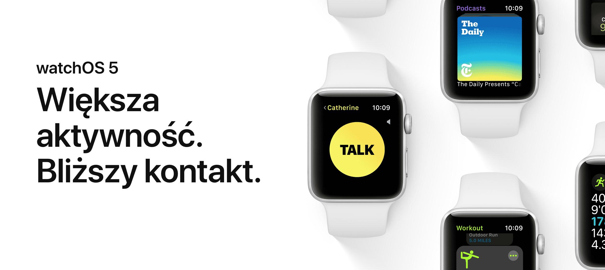 Polska strona Apple uaktualniona - pojawiły się informacje o iOS 12, watchOS 5 i macOS Mojave polecane, ciekawostki watchOS 5, polska strona apple, macos mojave, iOS 12, Apple  No i stało się. Właśnie gigant z Cupertino uaktualnił polską stronę Apple i dodał na niej wszystkie najważniejsze informację o iOS 12, watchOS 5 i macOS Mojave. watchOS5