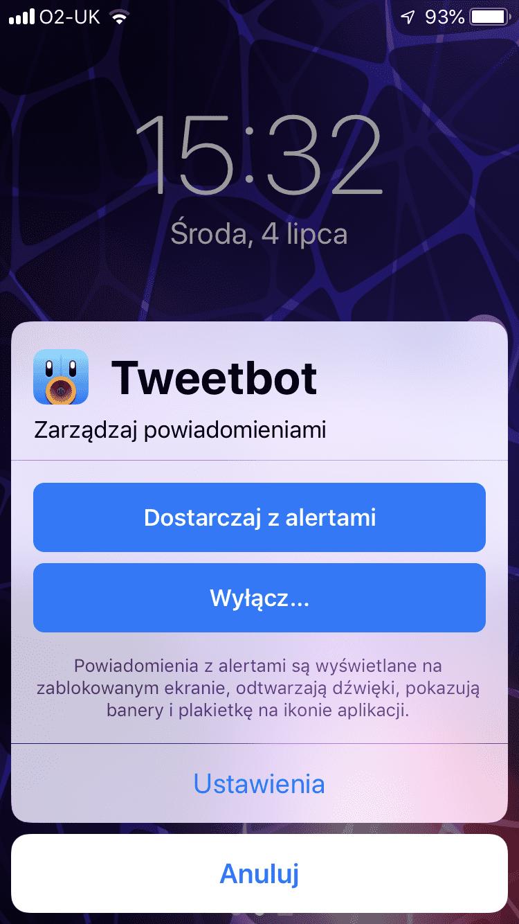 iOS 12 - zobacz jak włączyć dostarczanie powiadomień po cichu poradniki, polecane, ciekawostki powiadomienia po cichu w iOS 12, Powiadomienia, po cichu, jak wyciszyć powiadomienia w iOS 12, iOS 12, Apple  Kolejną nowością w iOS 12 jest możliwość szybkiego włączenia opcji dostarczania powiadomień po cichu. Zobaczmy jak działa. IMG 2214