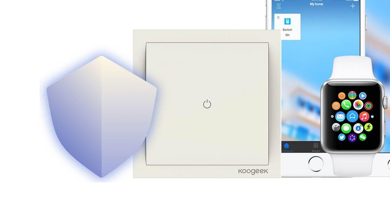 Koogeek Smart Light Switch, czyli włącznik światła kompatybilny z HomeKit dostępny w bardzo atrakcyjnej cenie polecane, ciekawostki właczynik światla, Promocja, Koogeek Smart Light Switch, koogeek  Dziś mamy dzień promocji. Po Huawei Honor 7X przyszedł czas na Koogeek Smart Light Switch, czyli włącznik światła kompatybilny z HomeKit. koogeek 1