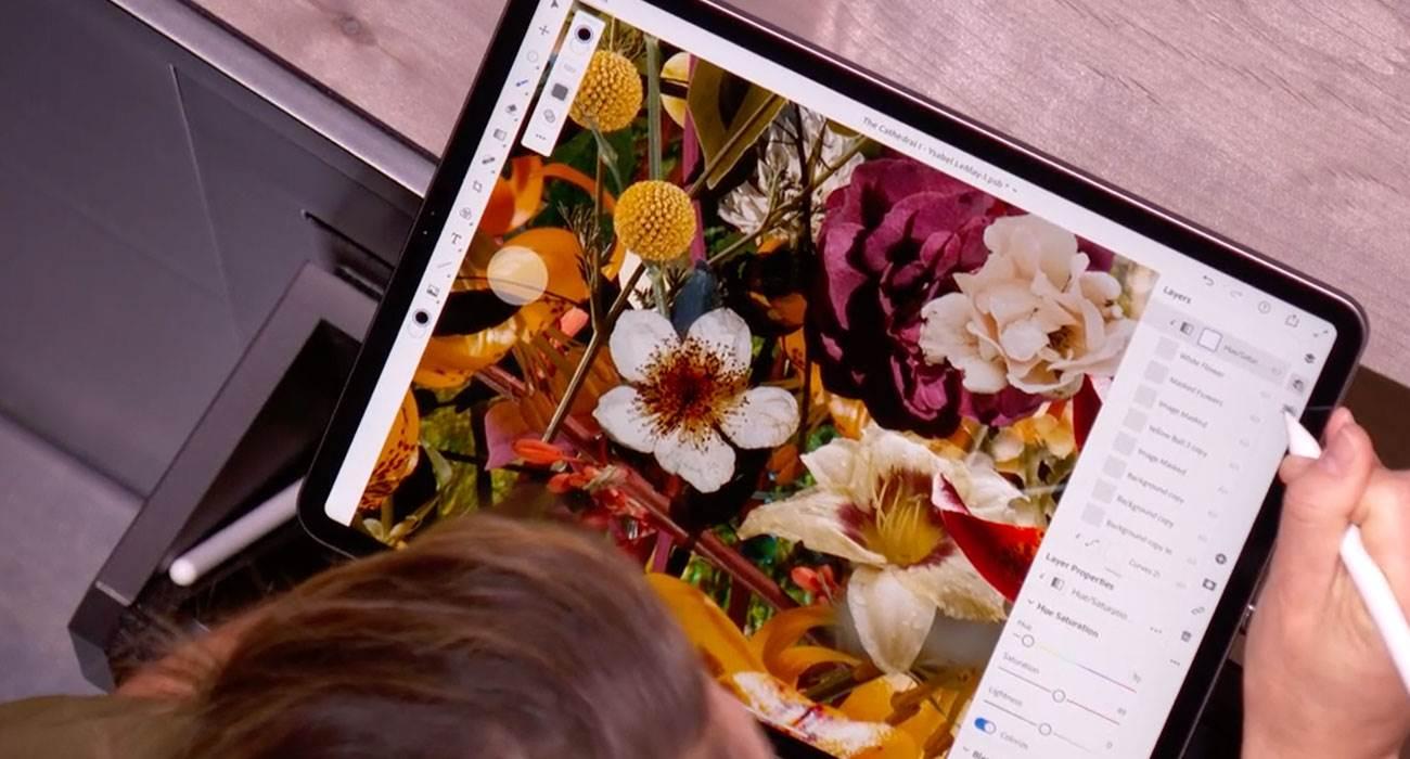 Jak korzystać z prawdziwego Photoshop na iPad za darmo? ciekawostki photoshop na iPad Pro za darmo, Photoshop na iPad, Photoshop, jak zapisać się do beta testów Photoshop iPad Pro, iPad Pro, iPad  W zeszłym roku Adobe ogłosiło Photoshopa dla iPada i pokazało, jak będzie wyglądać. Wydaje się, że będzie można go wkrótce przetestować - za darmo. ipadPro 2