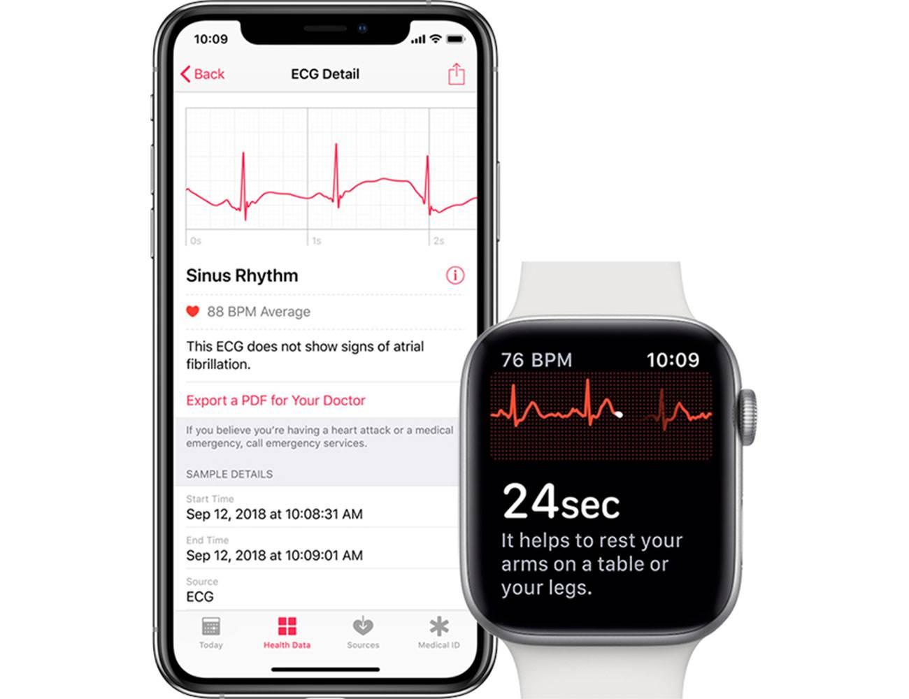Użytkownicy Apple Watch Series 4 już mogą się cieszyć. Dzisiejsza finalna wersja watchOS 5.2.1 aktywuje funkcję EKG w Polsce! polecane, ciekawostki watchOS 5.2.1, kiedy funkcja ekg w apple watch w polsce, jak aktywować ekg w polsce, jak aktywować ekg w apple watch w polsce, ekg w polsce, ekg w apple watch w polsce  Dziś oprócz finalnej wersji iOS 12.3 udostępniona zostanie także finalna wersja watchOS 5.2.1, która umożliwi korzystanie z funkcji EKG w Polsce! Oczywiście funkcja ta dostępna jest tylko w Apple Watch Series 4. EKG