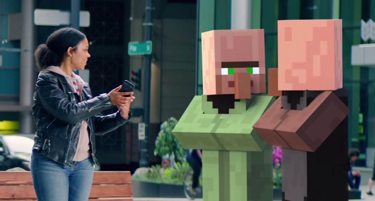 Minecraft  Earth, czyli Minecraft w rozszerzonej rzeczywistości już dostępny w App Store polecane, ciekawostki Wideo, skąd pobrać Minecraft Earth, minecraft, Earth, download, App Store  Minecraft Earth, to gra, która pierwszy raz została zaprezentowana na konferencji otwierającej tegoroczne WWDC. Po wielu miesiącach testów gra jest już dostępna w App Store. Minecraft