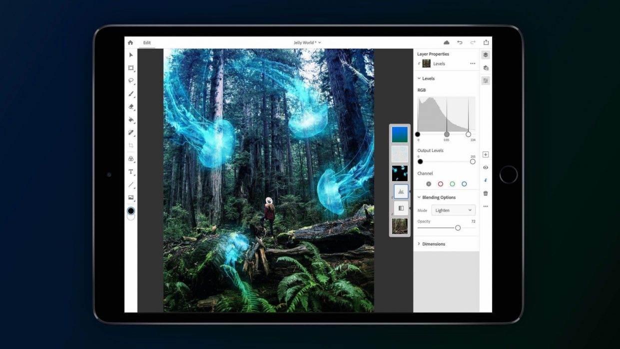 Jak korzystać z prawdziwego Photoshop na iPad za darmo? ciekawostki photoshop na iPad Pro za darmo, Photoshop na iPad, Photoshop, jak zapisać się do beta testów Photoshop iPad Pro, iPad Pro, iPad  W zeszłym roku Adobe ogłosiło Photoshopa dla iPada i pokazało, jak będzie wyglądać. Wydaje się, że będzie można go wkrótce przetestować - za darmo. PS