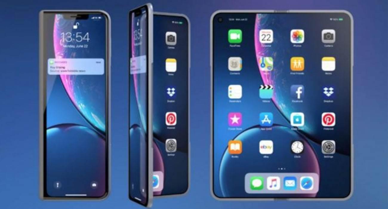 Apple rejestruje patent na składanego iPhone?a polecane, ciekawostki skladany iPhone, Apple  Po prezentacji pierwszych składanych smartfonów Samsunga i Huawei wiele mówi się o możliwych ruchach Apple w tym nowym segmencie rynku. Pierwszy składany iPhone może nie tylko być fantazją, ale może wkrótce stać się rzeczywistością. Skladany iPhone