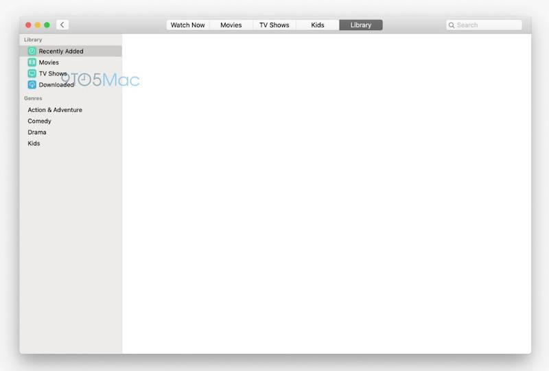 Do sieci trafiły pierwsze screeny nowych aplikacji Muzyka i TV, które pojawią się w najnowszym macOS 10.15 polecane, ciekawostki Muzyka, macOS 10.15, Apple  Kilka dni temu 9to5mac.com prezentował nam pierwsze screeny pochodzące z iOS 13, a wczoraj do sieci za sprawą tego samego serwisu w sieci pojawiły się screeny z macOS 10.15. mac tv app