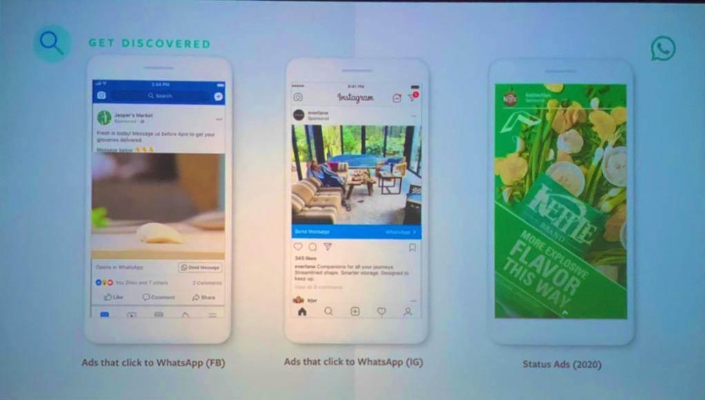 Reklamy w WhatsApp od 2020 r. ciekawostki WhatsApp, reklamy na whatsapp, 2020  Odkąd Facebook kupił WhatsApp, wielu obawiało się jednego. W najczęściej używanej aplikacji do przesyłania wiadomości na świecie wkrótce pojawią się reklamy. whatsapp reklamy