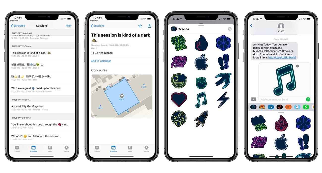 Apple uaktualniło apkę WWDC gry-i-aplikacje, aktualizacje wwdc19, WWDC, Update, iOS, Apple, App Store  W dniu wczorajszym oficjalna aplikacja WWDC otrzymała aktualizację, która przygotowuje ją na nadchodzące już 3 czerwca wydarzenie. wwdc19